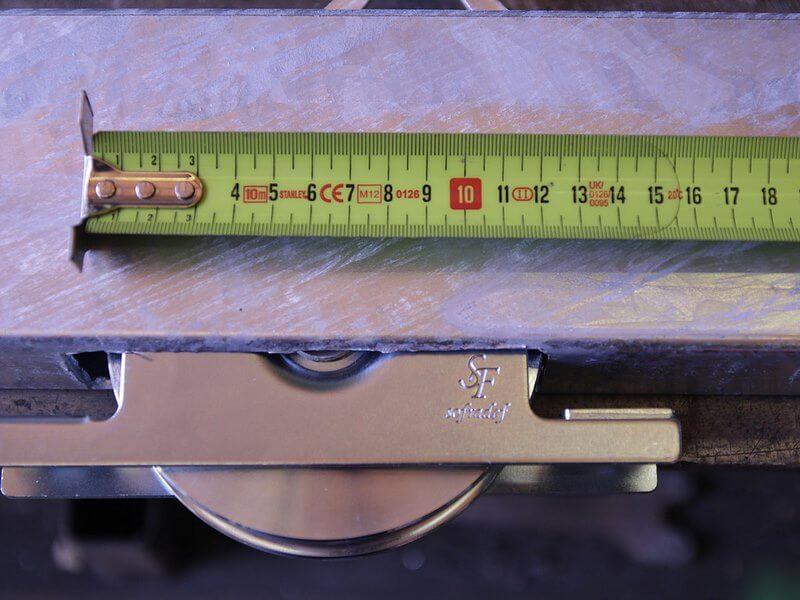 Roulette de 120mm